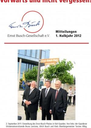 EBG-Mitteilungen 1. Halbjahr 2012