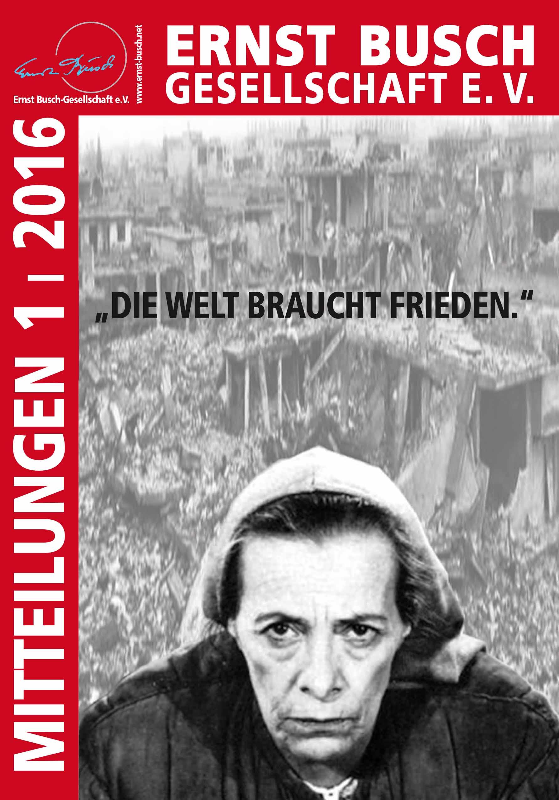 Mitteilungen der Ernst Busch-Gesellschaft e.V.