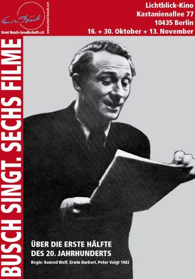 Ernst Busch bei Radio Komintern