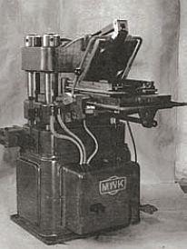 halbautomatische Plattenpressmaschine