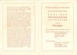 Konzert-Ankündigung Titania-Palast