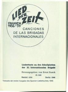 Abdruck aus Ludwig Hoffmann/Karl Siebig Ernst Busch. Eine Biographie